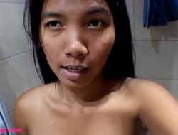 HD 7 weeks pregnant breaks penis pump on monster cock and deepthroats throatpie Asian Tiny Thai Teen