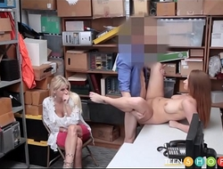 Mom Watches Daughter Get Fucked By Security