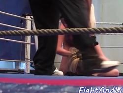 Amateur lesbians tribbing and wrestling