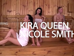 Naughty babes Kira Queen and Nicole Smith Loving that Pussy