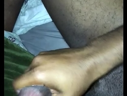Jacking off before bed