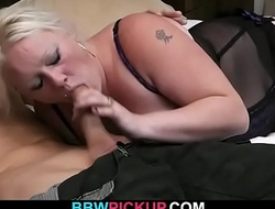 She enjoys fresh cock into her fat snatch