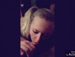 Big titty blonde girlfriend compilation sucking cock and giving handjobs cumshot