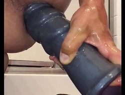 pounding anal with dildos