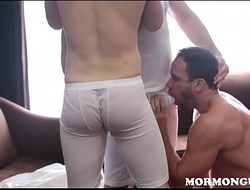 Mormon Twinks Fucked By Bear Threesome