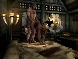 Skyrim Porn Movie XBOX ONE Mods 2  Succubus Bitches gets their Midnight snack