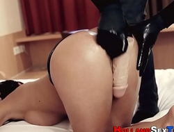 Hooker fucked with dildo