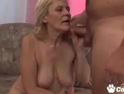 Granny Rides Cock Like A Woman Half Her Age