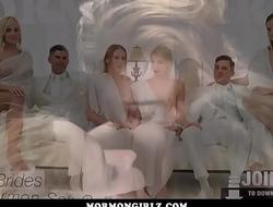 MormonGirlz- Three Girl Orgy Under His Eyes