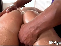 Oral from gay masseur