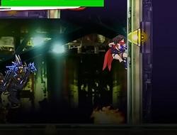 Scrider Asuka - hentai action game stage 3