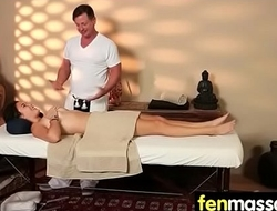 Massage Girl Sucks the Tip for a Tip 15