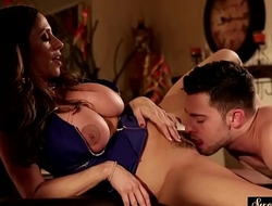Glamcore stepmom fucked after pussylicking