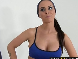 Big Tits In Sports - W-H-O-R-E scene starring Brandy Aniston  Mr. Pete