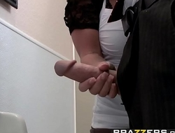 Big Tits at Work - Downsizing scene starring Kristal Summers  Johnny Sins