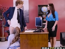 Big Tits at Work - Porn Logic scene starring Angela White, Lena Paul &amp_ Michael Vegas