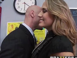 Big Tits at School - Mean Teacher Fuck Her Former Student scene starring Alanah Rae &amp_ Johnny Sin