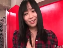 Gorgeous Nozomi Hazuki uses toys and fingers to make her pussy explode