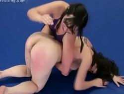 Spanking Catfight Wrestling Red Assed Wrestlers