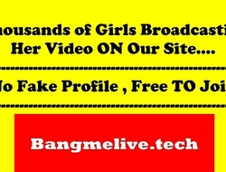 Horny Babe Drilling ass and pussy using bat on cam - www.bangmelive.tech