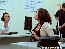 Brazzers - Dirty Masseur - Office Rub Down scene starring Breanne Benson &amp_ Mick Blue