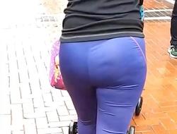 Chav Milf Pawg, Fat Ass Street Candid - Slo Mo